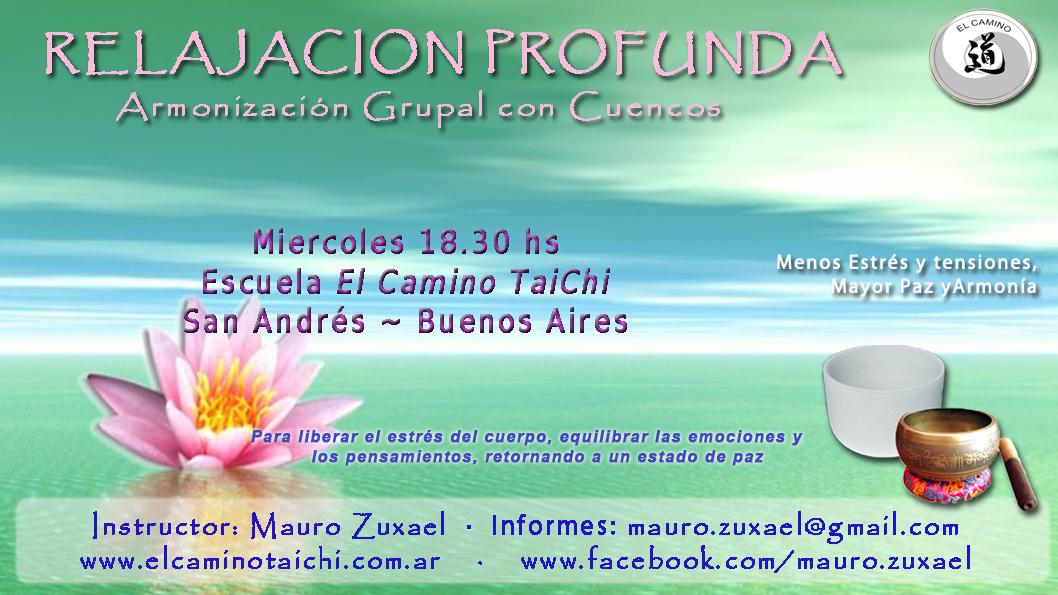 Relajacion Profunda con Cuencos en San Andres (Buenos Aires)