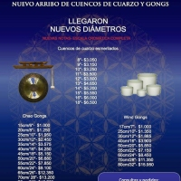 Venta de Cuencos y gong importados en Buenos Aires