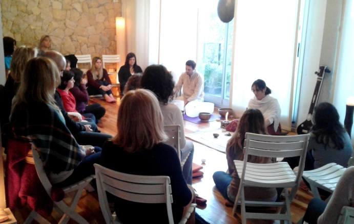 ceremonia te meditacion