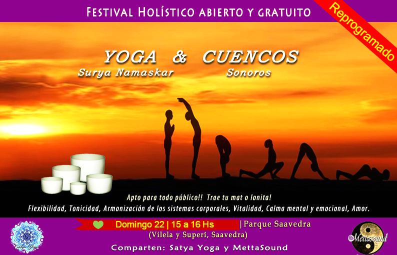 yoga cuencos gratis