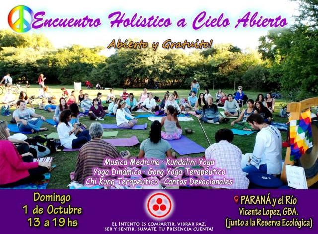 Encuentro holistico gratuito