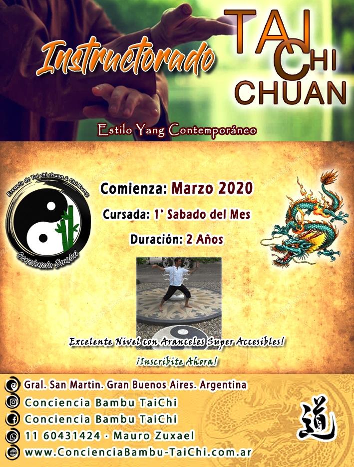 instructorado Tai chi chuan